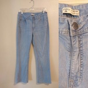 Riders by Lee no gap waist bootcut jeans 12M